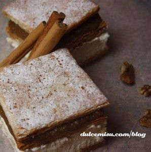 milhojas de crema de nueces y nata (1)