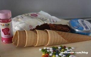 cucuruchos de bizcocho y candy melts (2)
