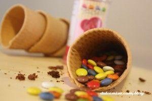 cucuruchos de bizcocho y candy melts (8)