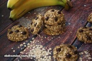Galletas de avena, plátano y chips de chocolate (9)