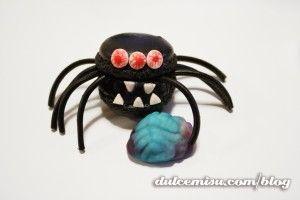 Macarons de araña. Halloween (21)